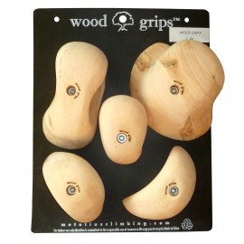 Wood Grips Holds 5 Pack