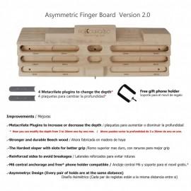 Rokodromo Asymmetric Finger Board V2
