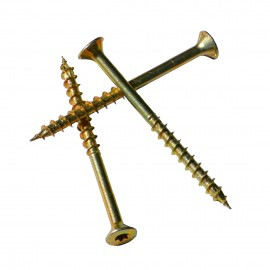 10 Spax Countersunk Screws 8mm Thickness, 100-140mm Length