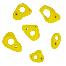 6 Big Pockets 0-60° - Climbing Holds