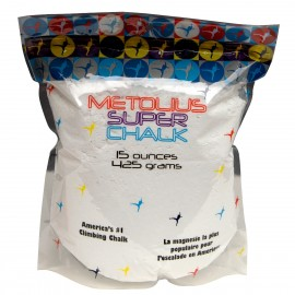 Metolius Super Chalk 15oz - Premium Chalk for Climbers