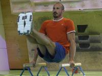 Training am Minibarren