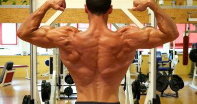 Beanspruchte Muskeln beim Klettern
