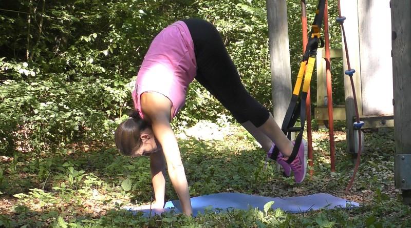 Slingtrainer - Leg Pulls Stretched