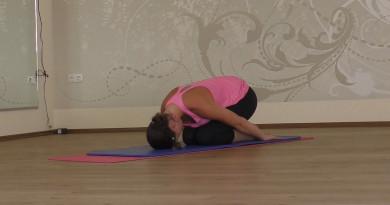 Yoga-Kindeshaltung