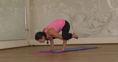 Yoga-Kraehe