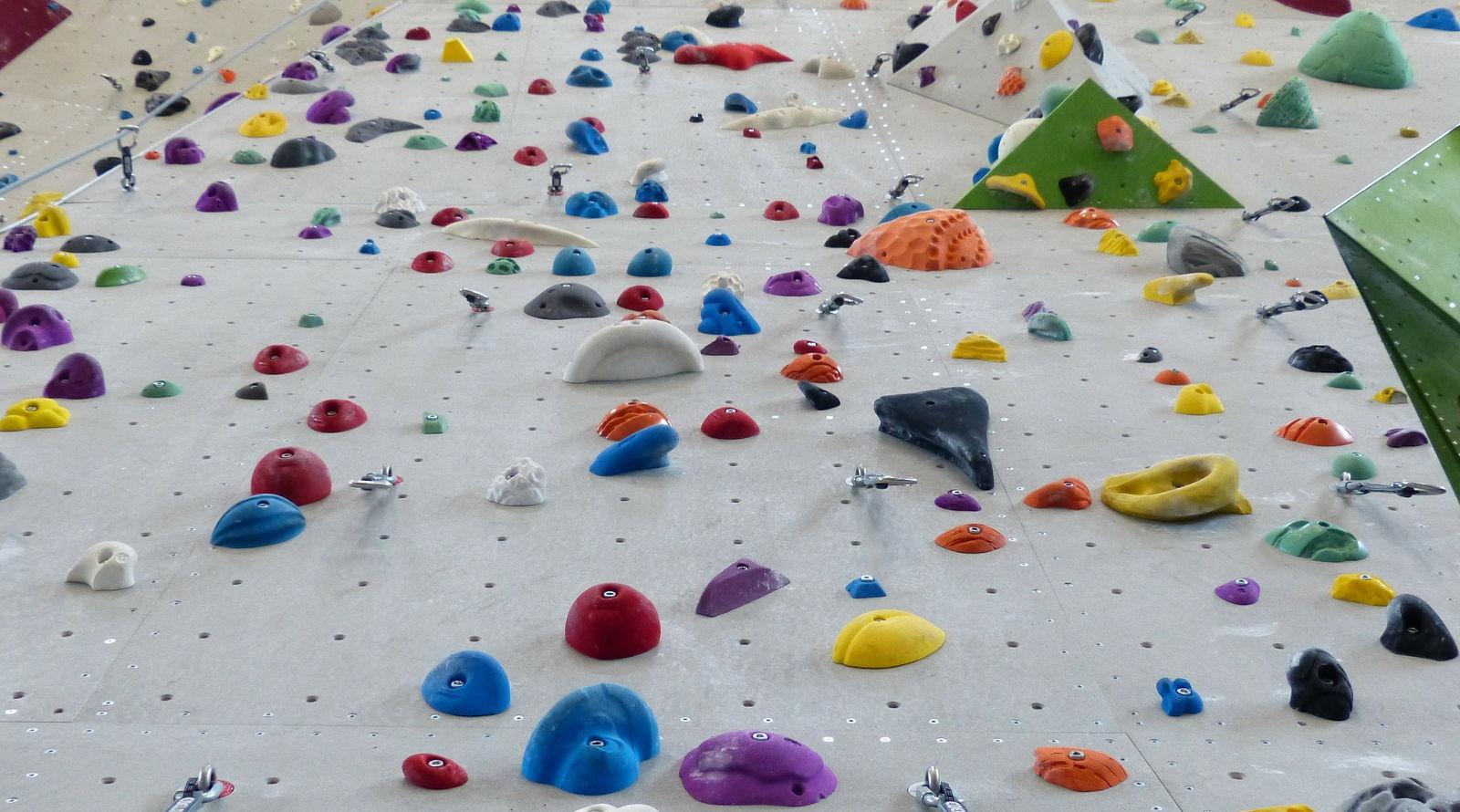 Die verschiedenen Griffarten beim Klettern -