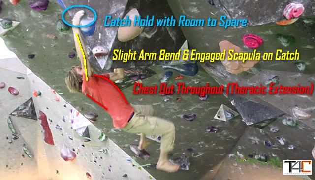 Alex Megos demonstriert eine perfekte Boulderhangel-Technik. Siehe auch das Video unten! (Foto: Eric Hörst)