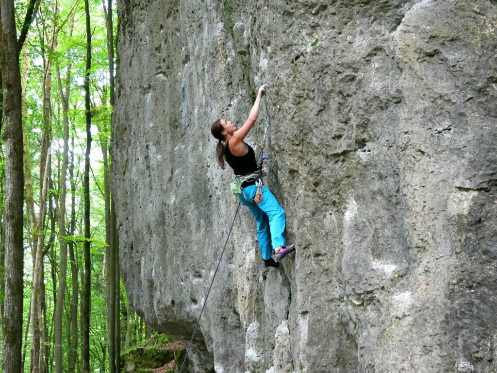 Fürs Klettern mit Seil braucht man zuverlässige Partner