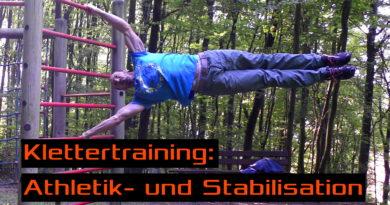 Video - Eine typische Athletik- und Stabilisationseinheit fürs Klettern