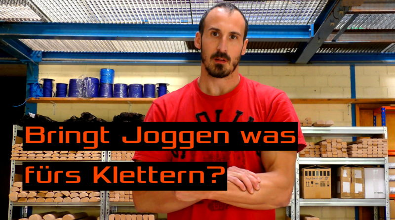 Video - Was bringt Joggen fürs Klettern?