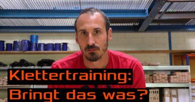 Video: Klettertraining: Bringt das was?