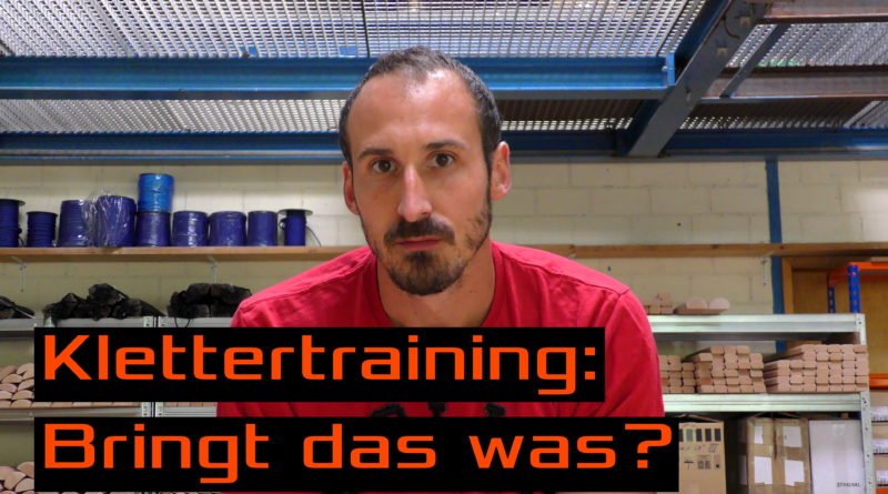 Video: Klettertraining: Bringt das was?