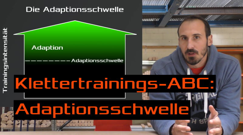 Video - Klettertrainings-ABC: Adaptionsschwelle