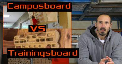 Campusboard vs Trainingsboard