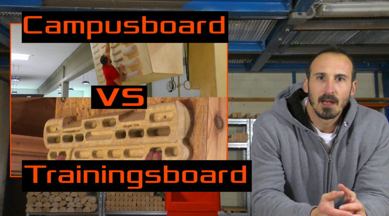 Campusboard vs Trainingsboard