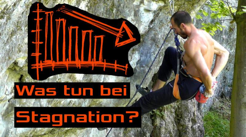 Video - Was tun bei Stagnation und Plateaus beim Kettern und Bouldern?