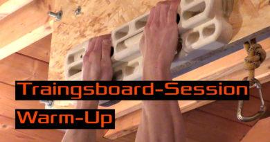 Video - Warm-Up für eine Session am Trainingsboard