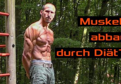 Angst vor Muskelabbau bei einer Diät???   Diäten fürs Klettern
