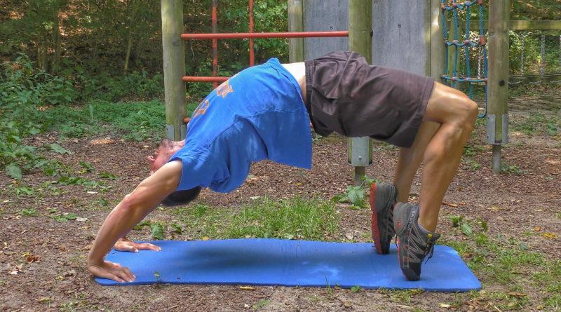 Verletzungsprophylaxe durch Beweglichkeit - Yoga Brücke