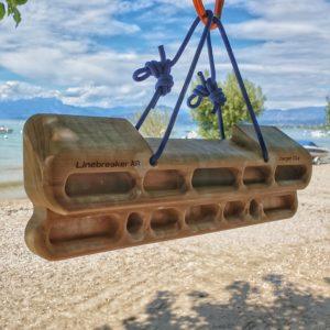 Linebreaker AIR - Am richtigen Ort kann das Griffbretttraining sogar Spaß machen!